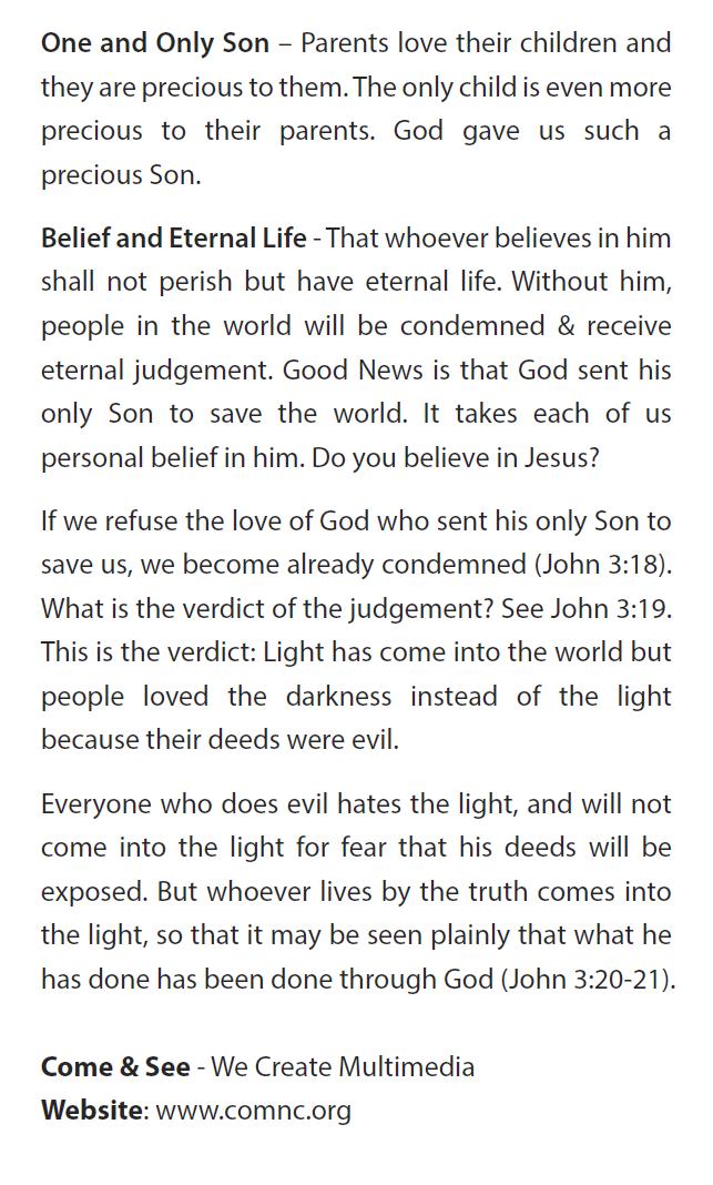 John 3:16 flyer back